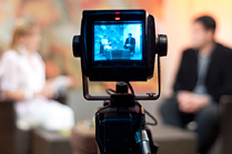 Image of video interview